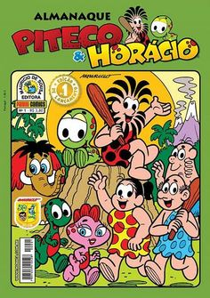 Cover for Almanaque Piteco & Horácio (Panini Brasil, 2009 series) #1