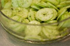 Sweet and Spicy Asian Cucumber Salad - foodista.com