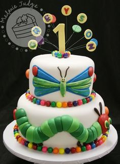 Another Hungry Caterpillar cake!
