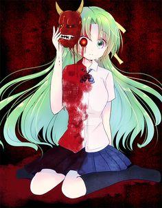Anime ✨ Higurashi No Naku Koro Ni / When They Cry | Shion / Mion Sonozaki (by 15neko?)