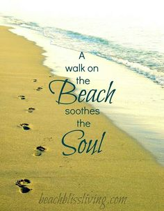 Discover and share Walks On The Beach Quotes. Explore our collection of motivational and famous quotes by authors you know and love. Sea And Ocean, Ocean Beach, Beach Bum, Miami Beach, Summer Beach, Ocean Quotes, Beach Quotes, Beach Sayings, Wise Sayings