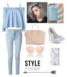 """""""STREETSTYLE ♡"""" by fashion-coma ❤ liked on Polyvore featuring Sandy Liang, Frame Denim, Givenchy and Lipsy"""