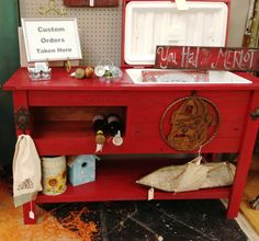 Barn wood Cooler Console / Wine & Beer by FurnishingsWithaPast, $349.00