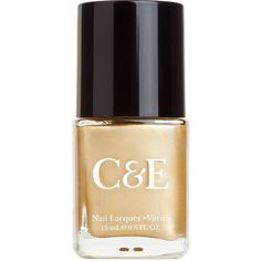 Crabtree & Evelyn Nail Lacquer, Gold 15 ml found on Polyvore