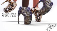 MA ims4   Alexander McQueen Armadillo Shoes e8b04f026b9