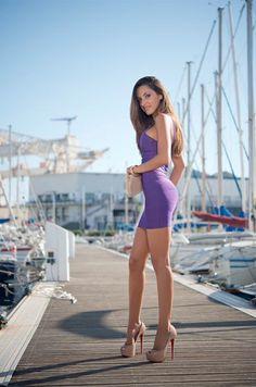 Hot Dress and heels