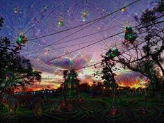 Basically     #deepdream #trippy #psychedelic #sunset by pixie_pinup