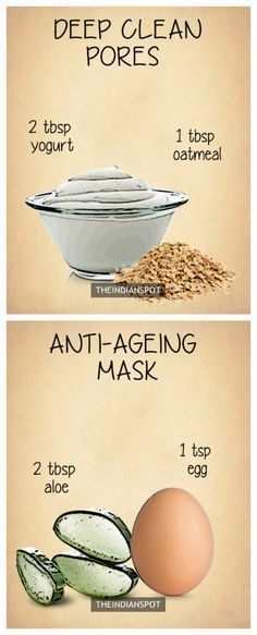 10 Amazing Natural Homemade Face Masks #Natural #Skincare #Health