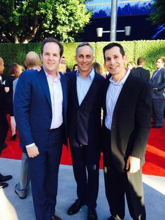 The CSI studs Jon Wellner, Wallace Langham and David Berman pose together on the red carpet. Csi Crime Scene Investigation, Las Vegas, Les Experts, Tv Show Casting, First Tv, Jimmy Fallon, Dream Team, Embedded Image Permalink, Thriller