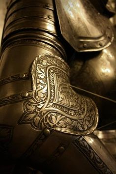It always amazed me how much detail was put into armor that was essentially going to be destroyed in battle.