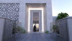 arabic modern villa - Google Search