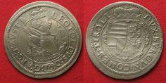 1627 Haus Habsburg RDR - TIROL 10 Kreuzer 1627 Hall ERZHERZOG LEOPOLD Silber # 89852 ss-vz