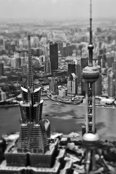 Radisson Blu Hotel Pudong Century Park - Shanghai, Art Gallery by David Barlow, Oriantal Pearl Tower.