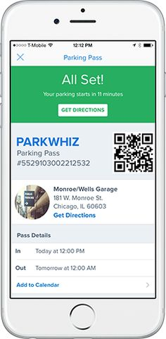 Free $50 ParkWhiz Parking Coupon.  Book your spot online and enter code: TG50. Free parking up to $50, good for one booking. Valid for parking until 11/30. Limit one transaction per customer. Not for use on event parking.