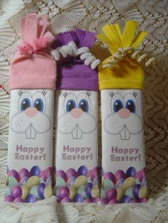 Easter Bunny Character Bar, Hershey Bar Wrapper, Easter Wrapper, Bunny Candy Wrapper. $3.00, via Etsy.