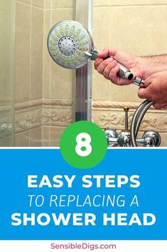 If your shower head is a little gunked up and just not running as well as it should be, it could be time to replace it. But how? Take a look at our step-by-step guide to getting the job done right.  #showerideas #showerremodel #showerfaucet #showerheads #showering #bathroomideas #homerenovationideas