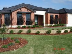Exterior House Colors With Red Brick red brick and render exterior house pictures - google search