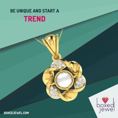 Explore yourself. Trust your uniqueness. Be a trendsetter. Choose your trend at www.boxedjewel.com #Pendants #Jewellery #Diwali