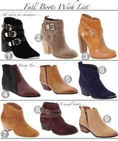Fall Boots 2013 | Golden Divine Blog