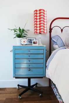 Stylish & Functional: Nightstand Inspiration | Apartment Therapy