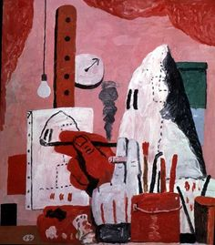 Philip Guston (American:1913 - 1980) - The Studio (1969)