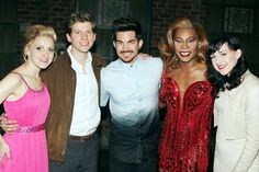 Via Broadway dot Com ADAM LAMBERT at Kinky Boots NYC 6-19-13 Broadway dot Com: Adam Lambert Enjoys a Kinky Afternoon in the Land of Lola! Wicked tour alum Adam Lambert is getting his Broadway fix: