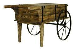 Resultado de imagen de photos from old wooden flowers carts