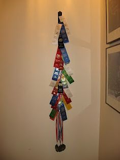 Most current Photo swim Ribbon Storage Concepts Among every one of the craziness associated with upgrading the kitchen at home, I have already been Ribbon Display, Ribbon Storage, Swim Team Party, Swim Ribbons, Award Display, Lightning Flash, Swim Mom, Hobby Supplies, Crafts For Kids