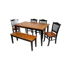 Boraam 6pc Shaker Dining Set