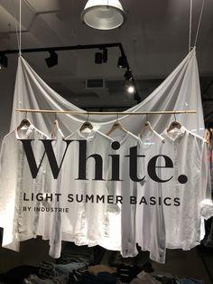 "INDUSTRIE, High Street, Auckland CBD, New Zealand, ""White: Light Summer Basics"", photo/uploaded by Ton van der Veer"