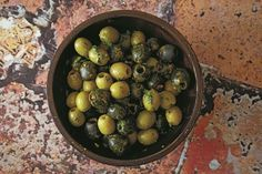 The flavor combination of peppers, cumin, and oregano in these Brazilian-spiced olives is native to the state of Bahia. Dairy-free, gluten-free, vegan.