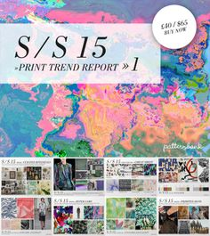 Spring/Summer 2015 Print Trend Report Part 1 PDF Download trend forecasts