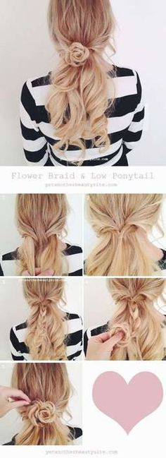 45 Trendy Wedding Hairstyles Updo With Bangs Pony Tails Spring Hairstyles, Wedding Hairstyles For Long Hair, Ponytail Hairstyles, Hairstyles With Bangs, Trendy Hairstyles, Hair Wedding, Bridal Hairstyles, Beautiful Hairstyles, Ponytail Ideas
