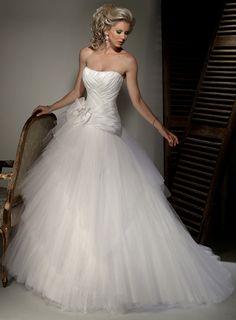 Elegant Sleeveless Ball Gown Floor-length bridal gowns,lace wedding dress,lace wedding dress,lace wedding dress