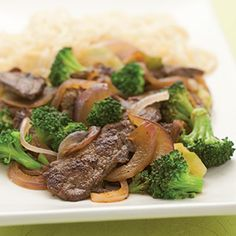 Stir-Fried Chile Beef and Broccoli