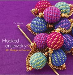 Hooked on jewelry. By Pat Harste. An introduction to crochet and jewelry making tools and techniques. You can view the book on issuu.