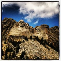 Mount Rushmore National Memorial in Keystone, SD This is a memorial of George Washington, Thomas Jefferson, Abraham Lincoln and Theodore Roosevelt. http://www.nps.gov/moru/index.htm This Picture was from foursquare