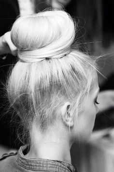 high bun #hair