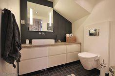 Kotina kivitalo: sauna Vanity, Colours, Bathrooms, Home, Dressing Tables, Powder Room, Bathroom, Haus, Makeup Dresser