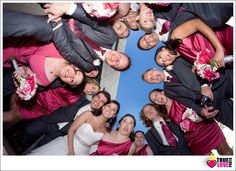 fun wedding party photo. truelovephoto.com