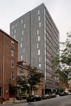 Northeastern University Parcel 18, Boston (USA) by Kyu Sung Woo Architect #architecture #zinc #facade #USA #QUARTZ-ZINC