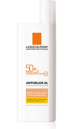 ANTHELIOS XL SPF 50+ Extreme Tinted Fluid , Tinted, very high facial protection. Ultra UVA (PPD 34).