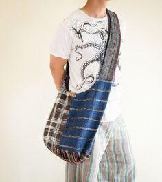 Shoulder Bag Sling Bag Messenger Bag Buddhist by AmazingThaiStore