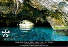 """Coventur DMC tu mejor opción en Los Cabos! #LosCabos#Cancun#RivieraMaya El Gran Cenote, o lo que es su nombre original Sac Aktun que en lengua maya significa """"Cueva Blanca"""". Sus cristalinas aguas y sus cuevas llenas de estalactitas es un lugar impresionante para darse un baño y la practica de snorkel. En nuestras rutas incluimos este cenote que no puedes irte sin visitarlo."""