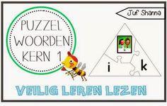 Juf Shanna: Veilig Leren Lezen: Kern 1 Week 5, Grade 1, School, Kids, Children, Boys, Schools, Babies, Kids Part