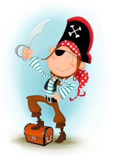 pirate Pirate Theme, Pirate Party, Pirate Images, Pirate Activities, Cartoon People, Beginner Painting, Baby Cartoon, Character Creation, Craft Party