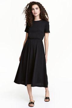 Tricot jurk - Zwart - DAMES | H&M NL 1