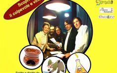 Giallo, Commedia e Cena con Delitto: ecco le Giallocomiche del commissario Pautasso. #cenacondelitto #torino #spettacoli
