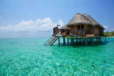 best overwater bungalow resorts maldives kanuhura exterior