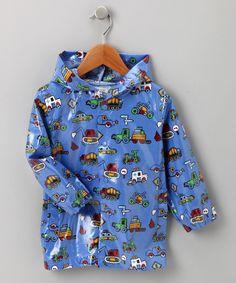 Blue Truck Raincoat - Infant, Toddler & Boys